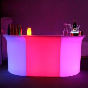 Лед стіл барний прямий