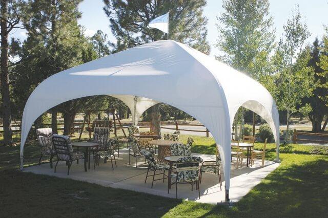 """Аренда шатра: изысканный шатер """"Парк"""""""