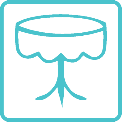 Оренда скатертин, чохлів для столів і стільців