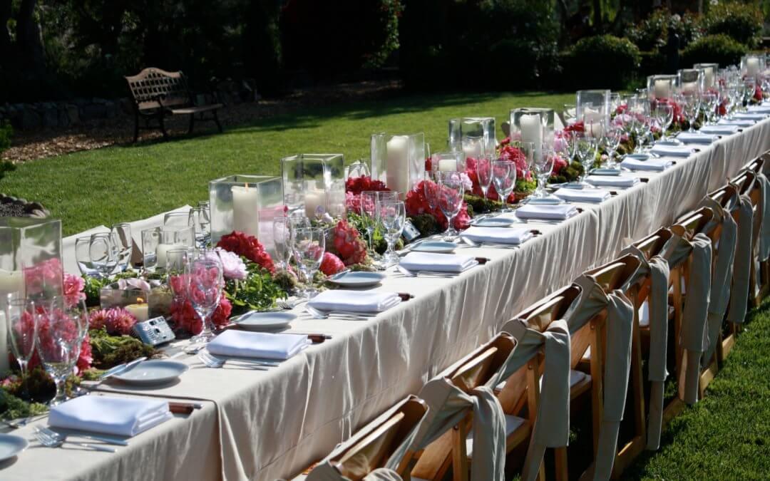 Как выбрать текстиль в аренду для свадьбы