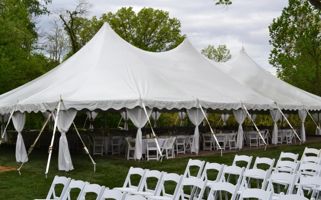 Свадьба в шатре: цена и преимущества