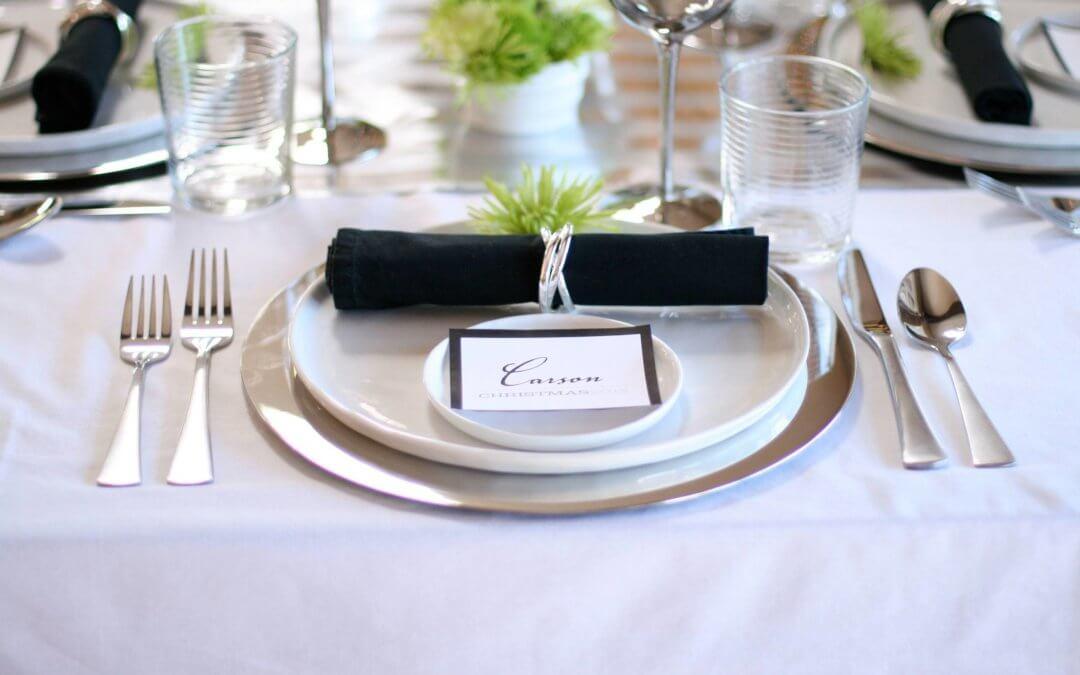 Секреты красивой сервировки стола
