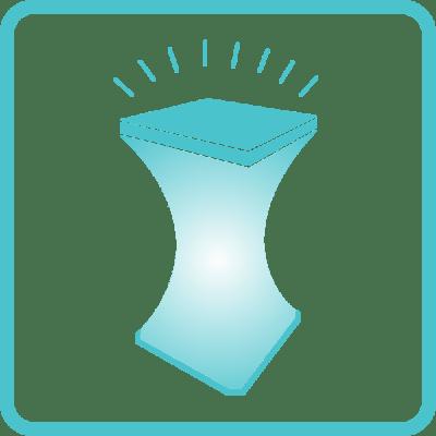 Оренда меблів (LED) з підсвіткою