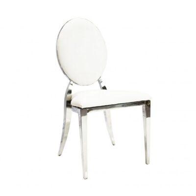 срібний весільній стілець в орнду у львові