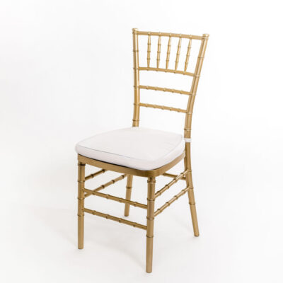стілець весільний золотий Чіаварі